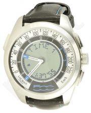 Laikrodis LOCMAN FIAT 500 chronografas LIMITED EDITION BLACK-BLUE 032000WHFKS2PLK_S