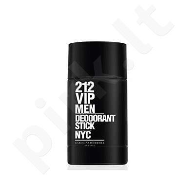 Carolina Herrera 212 VIP Men, pieštukinis dezodorantas vyrams, 75 ml