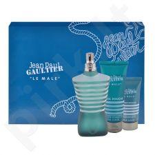 Jean Paul Gaultier Le Male rinkinys vyrams, (EDT 125ml + 75ml dušo želė + 50ml losjonas po skutimosi)