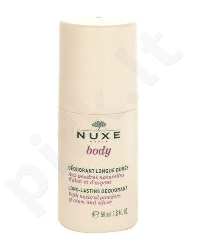 Nuxe Body Long Lasting dezodorantas, kosmetika moterims, 50ml