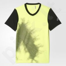 Marškinėliai futbolui Adidas Urban Football Brand Tee Junior AX6294