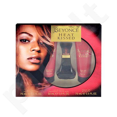 Beyonce Heat Kissed rinkinys moterims, (EDP 30ml + 75ml kūno losjonas + 75ml dušo želė) [pažeista pakuotė]