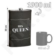 """GIGANTIŠKA gertuvė """"His Queen"""" (1900ml)"""