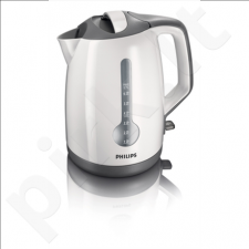 Kettle Philips HD4649/00 Standard kettle, Plastic, White, 2400 W, 360° rotational base, 1.7 L