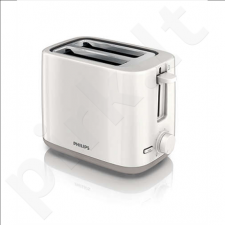 PHILIPS HD2595/00 Toaster, 2 slot, 4 functions, Non-slip feet, White