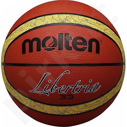 Krepšinio kamuolys rubber B7T2000-TI