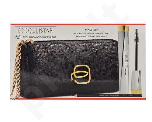 Collistar blakstienų tušas Art Design Kit rinkinys moterims, (12ml blakstienų tušas Art Design + 1,5g Kajal Pencil + krepšys) , (Black)