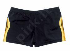 Maudymosi glaudės boxer vyrams 7032 0 7 black/orange/yel