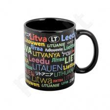 """Keramikinis puodelis """"Lietuva pasaulio kalbomis"""""""