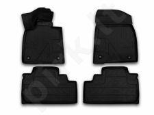 Guminiai kilimėliai 3D LEXUS RX 2015->, 4 pcs. /L41009