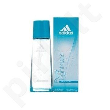 Adidas Pure Lightness, tualetinis vanduo (EDT) moterims, 50 ml