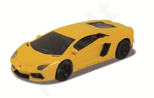 Atmintukas USB 2.0 8GB  Lamborghini Aventador yellow (blister)