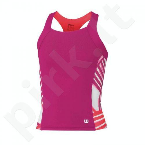 Marškinėliai tenisui Wilson Watercolor Tank Junior WRA710201
