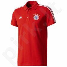 Marškinėliai polo Adidas FC Bayern Monachium 3 Stripes M BS0111