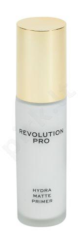 Makeup Revolution London Revolution PRO, Hydra Matte Primer, makiažo pagrindo bazė moterims, 30ml