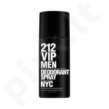 Carolina Herrera 212 VIP Men, dezodorantas vyrams, 150 ml