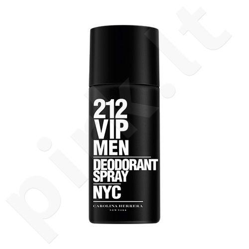 Carolina Herrera 212 VIP Men, dezodorantas vyrams, 150 ml