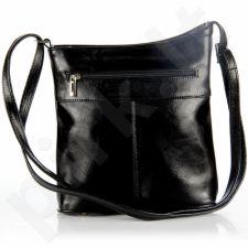 DAN-A T263 juoda rankinė, odinė