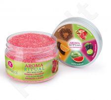 Dermacol Aroma Ritual Juicy kūno pilingas Rhubarb&Strawberry, kosmetika moterims, 200g