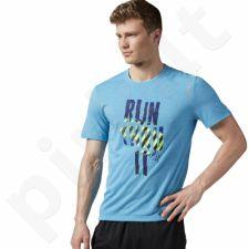 Marškinėliai bėgimui  Reebok Running Essentials SS Tee M AX9781