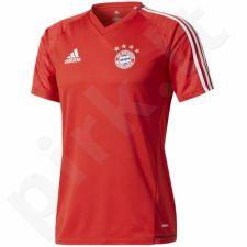 Marškinėliai futbolui Adidas FC Bayern Monachium Training Jersey M BQ2459