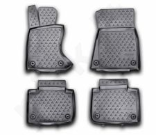 Guminiai kilimėliai 3D LEXUS GS 350 2012-> 4 pcs. /L41016