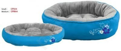Rogz guolis katėms BLUE FLORAL M Mėlynas