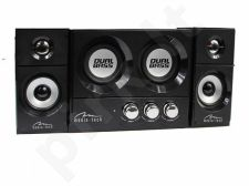 Garsiakalbiai Media-Tech SOUNDRAVE 2.2 DUALBASS Stereo