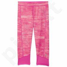 Sportinės kelnės Adidas Techfit Capri Macrohth 3/4 W AJ2270