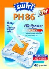 Maišeliai dulkių siurbliams SWIRL PH86/4 MP3  D.s. filtras