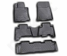 Guminiai kilimėliai 3D LEXUS GX460 2009-2013, 5 pcs. /L41019