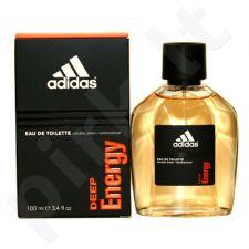 Adidas Deep Energy, tualetinis vanduo (EDT) vyrams, 100 ml