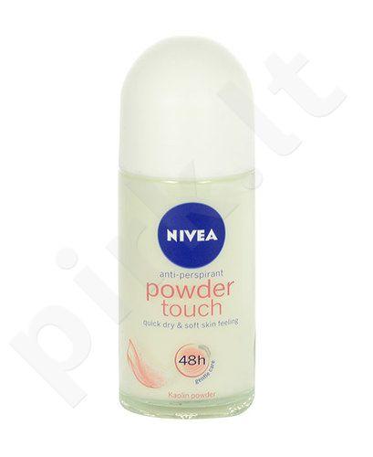 Nivea pudra Touch Anti-perspirant Roll-on 48H, kosmetika moterims, 50ml