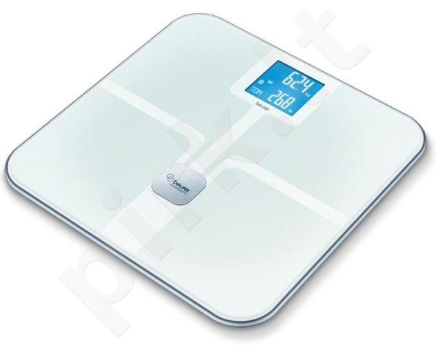 Diagnostinės svarstyklės Beurer BF800 Bluetooth baltos