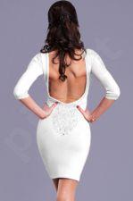 EVA&LOLA suknelė - balta 7910-3