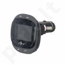 ART CAR TRANSMITER FM MP3 display 1.4'' RDS remote control USB/SD/MMC FM-01F