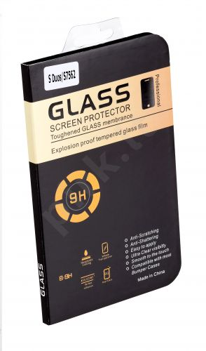 Samsung Galaxy A7 ekrano stiklas 9H Telemax permatomas