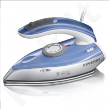 Severin BA 3234 Travel Steam Iron, 1000W, Silver/Blue