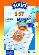 Maišeliai dulkių siurbliams SWIRL S67/4 MP3 D.s. filtras