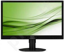 Monitor Philips LED 24'' 241B4LPYCB Full HD, DVI, 5ms, speakers, black