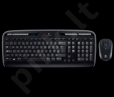 Bevielė klaviatūra Logitech + Pelė Desktop MK330, US