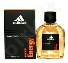 Adidas Deep Energy, tualetinis vanduo (EDT) vyrams, 50 ml