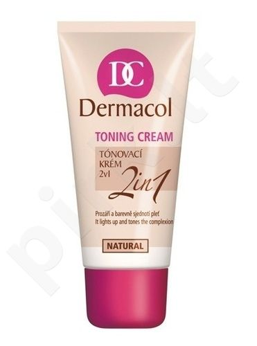 Dermacol Toning Cream 2in1-natural, 30ml, kosmetika moterims