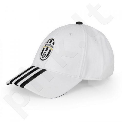 Kepurė  su snapeliu Adidas Juventus F.C. 3 Stripe Cap A99143