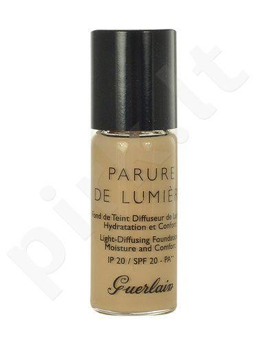 Guerlain Parure De Lumiere kreminė pudra SPF20, kosmetika moterims, 10ml, (testeris), (32 Ambre Clair)