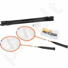 Badmintono rinkinys STIGA Deluxe 2 raketės + Tinklelis
