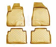 Guminiai kilimėliai 3D LEXUS RX350 2003-2009, 4 pcs. /L41033B /beige