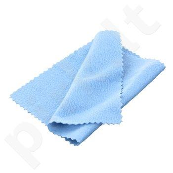 4World Universali mikrofibros valymo servetėlė ant kempinės