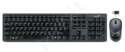 Genius klaviatūra+ pelė SlimStar 8000ME, USB