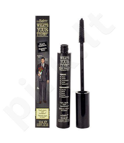 TheBalm What s Your Type? Tall Dark And Handsome blakstienų tušas, kosmetika moterims, 10ml, (Black)